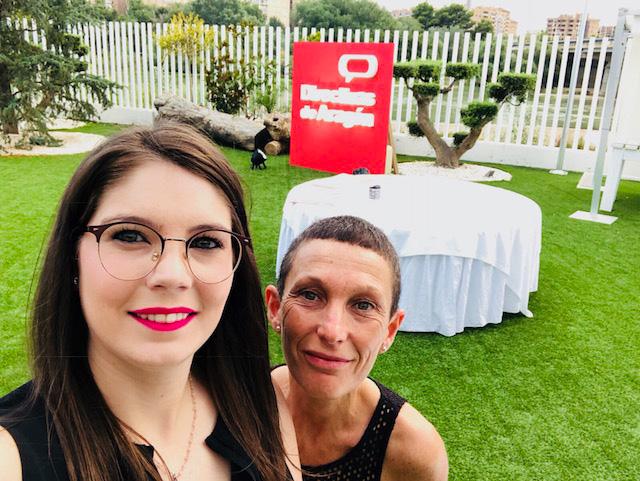 Isabel Mozota y Ana María Pérez (JOARJO)