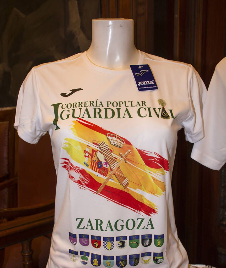 Camiseta Correría Guardia Civil