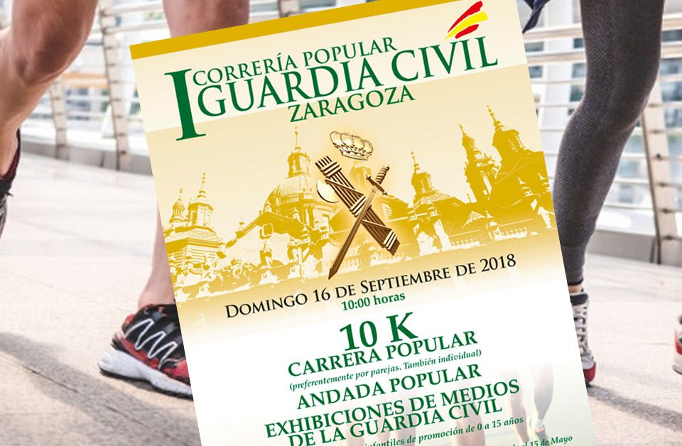 Correría Popular Guardia Civil Zaragoza