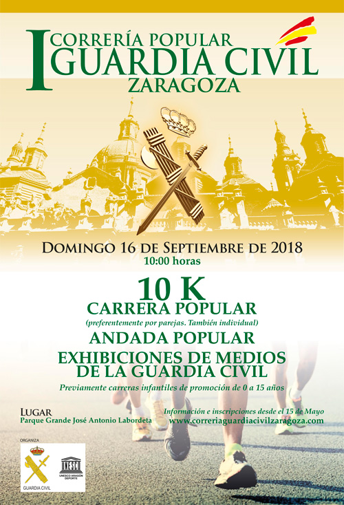 I Correria Popular Guardia Civil Zaragoza