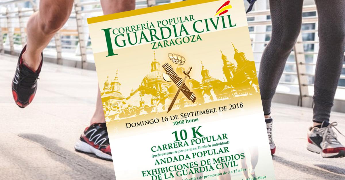 Correría Popular Guardia Civil Zaragoza