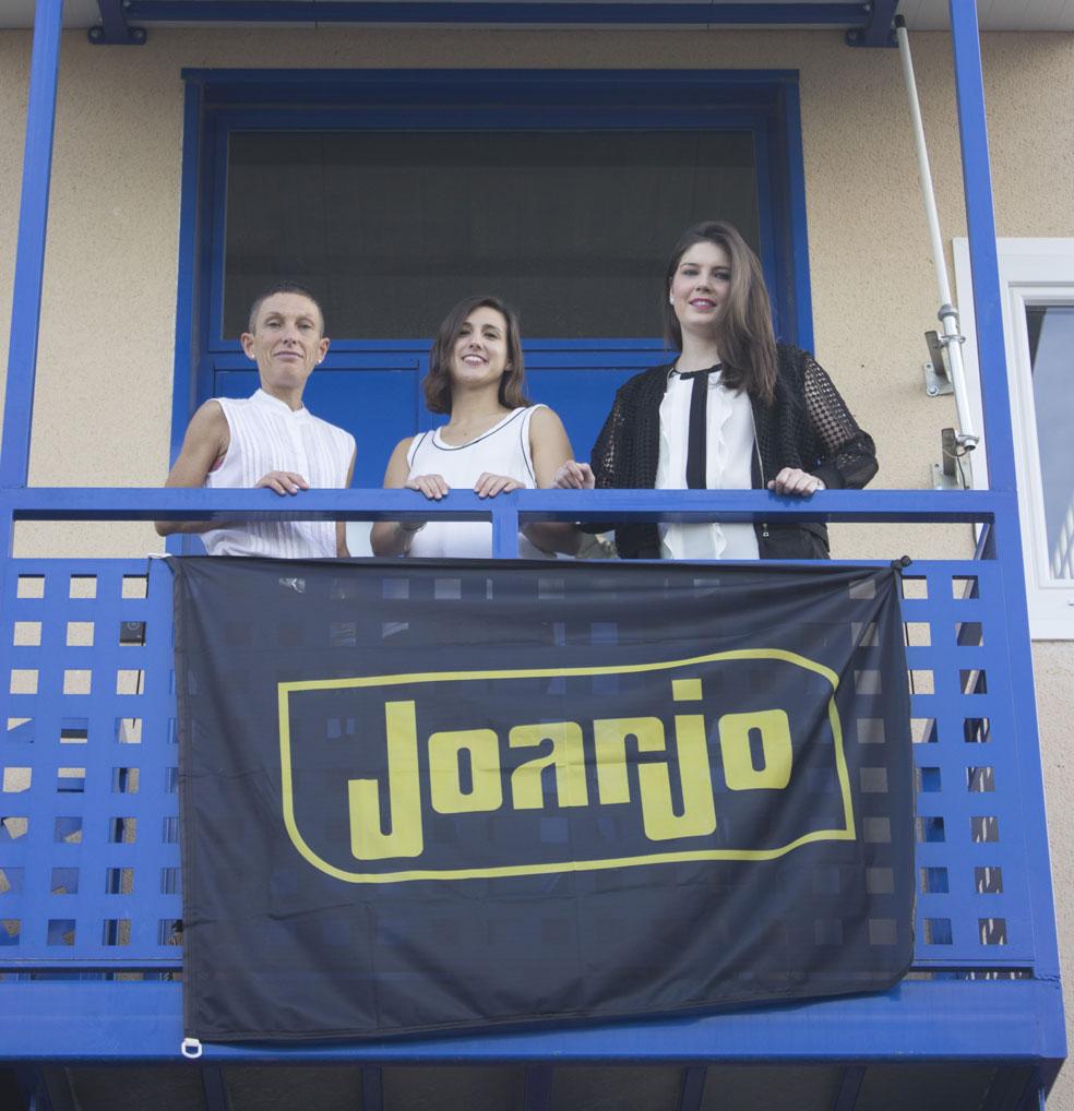 Equipo JOARJO en Expo Alfindén Activa