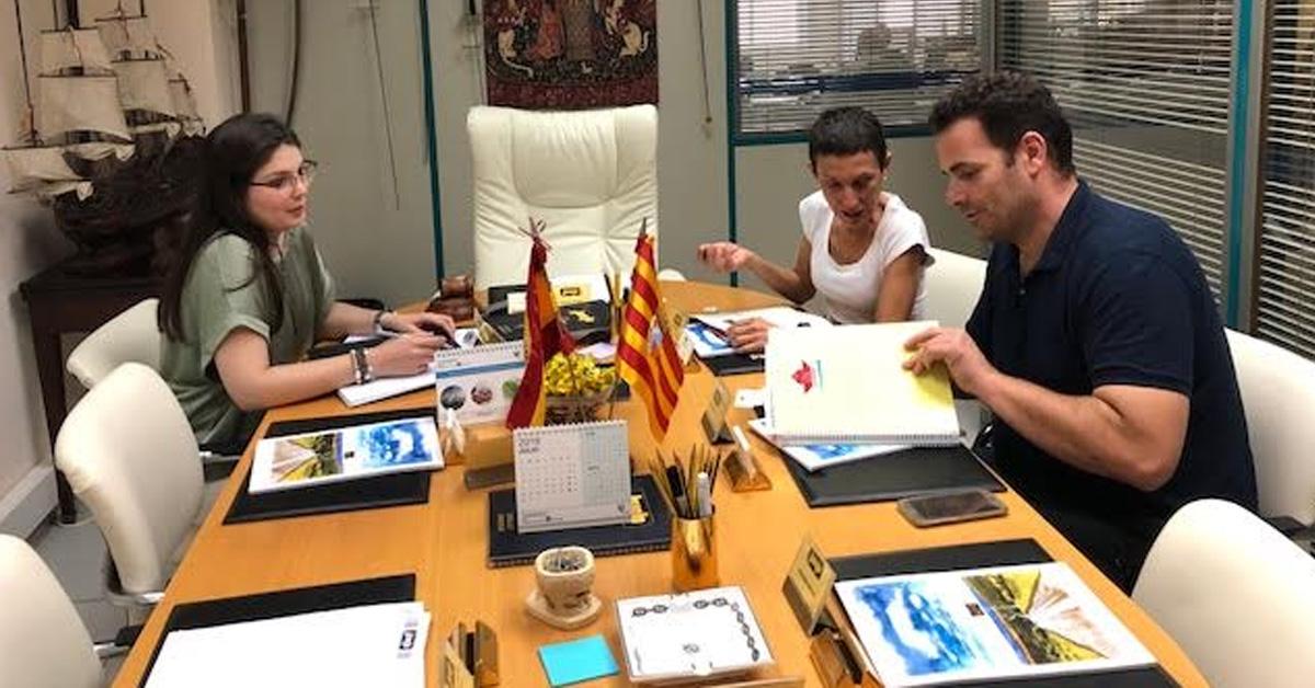 Firma del acuerdo de patrocinio entre JOARJO y Alfindén CB