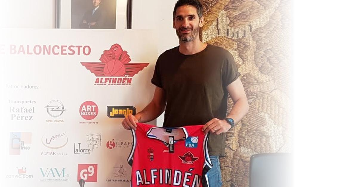 Matías Lescano (Alfindén Baloncesto)