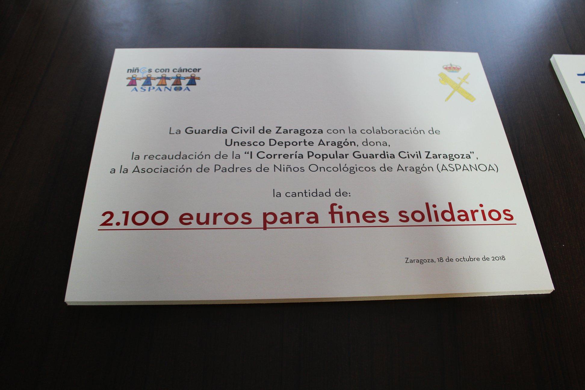 Donación a Aspanoa