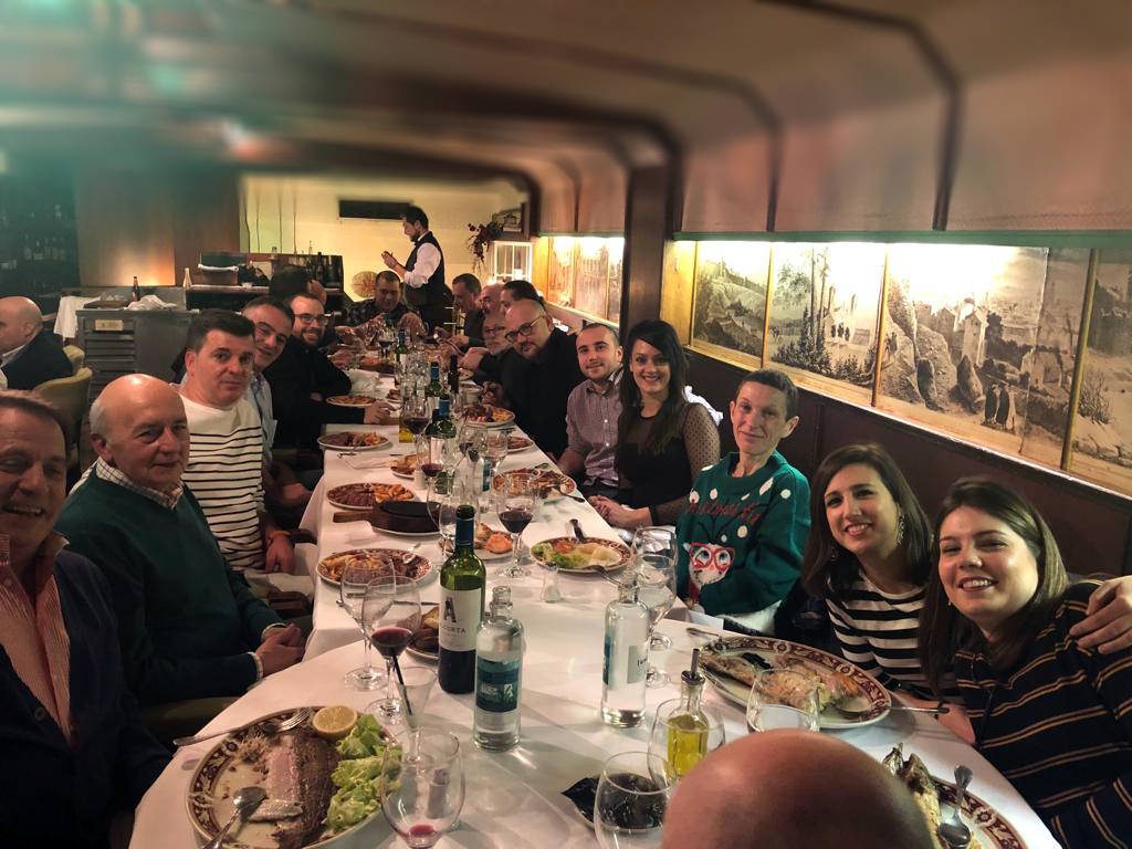 Cena de Navidad de Joarjo 2018