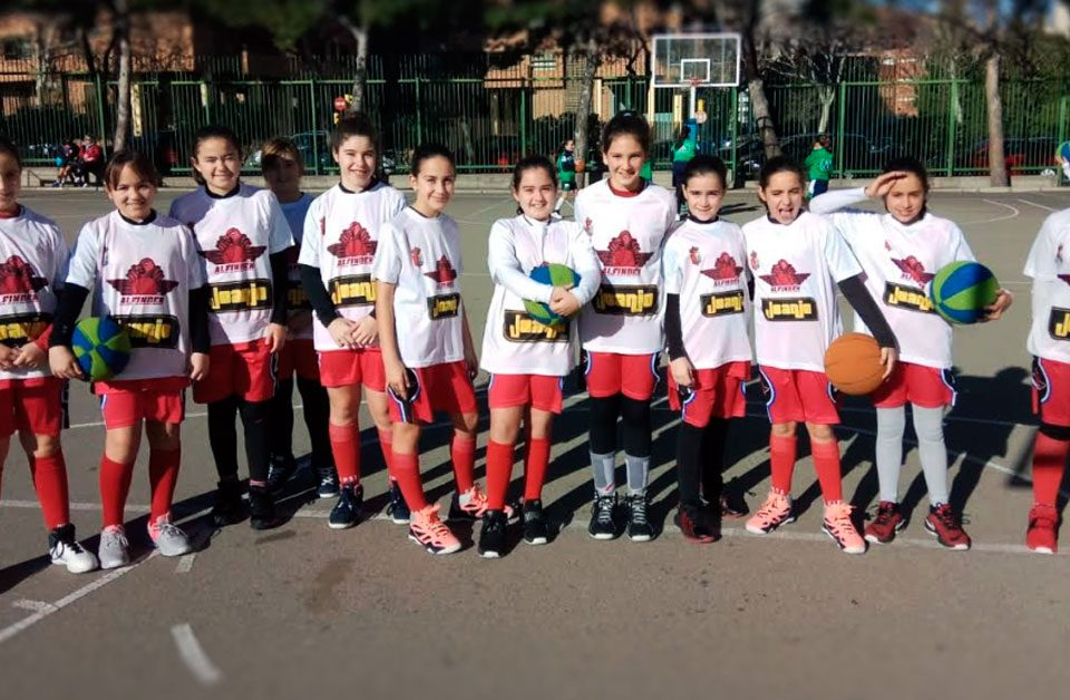 Escuela Baloncesto Alfindén