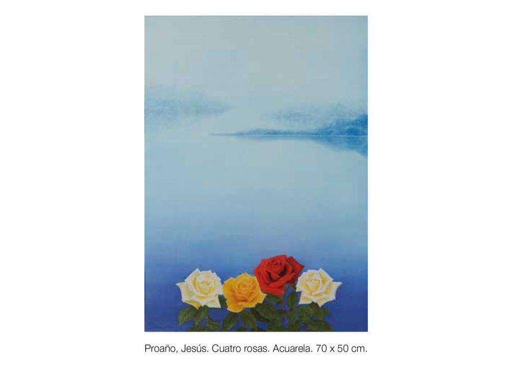 """""""Cuatro Rosas"""" de Jesús Proaño"""