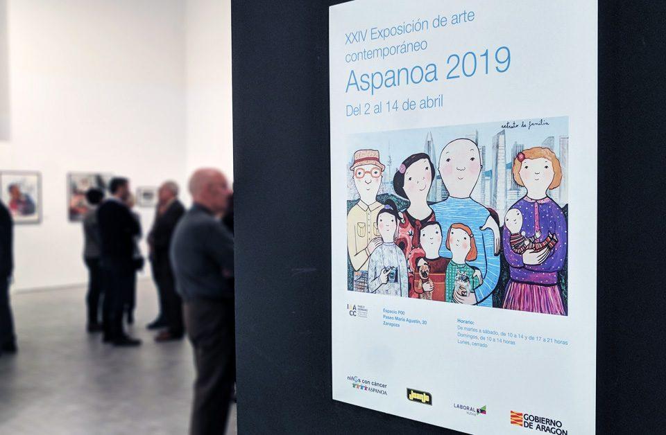 Exposición Aspanoa 2019 de Arte Contemporáneo