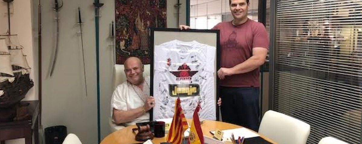 Camiseta del Alfindén Club Baloncesto