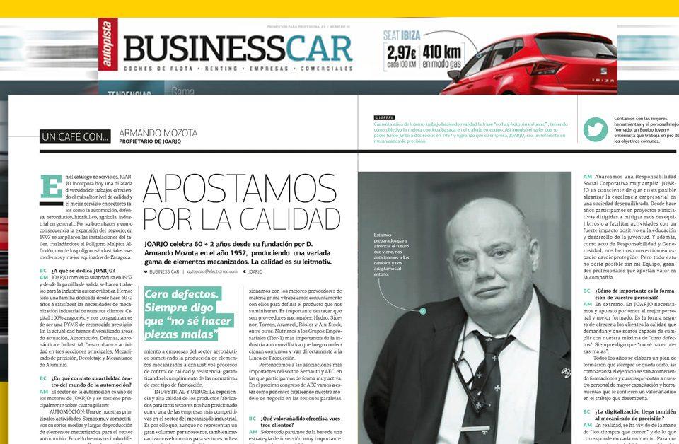 Business Car entrevista a Armando Mozota (Joarjo)