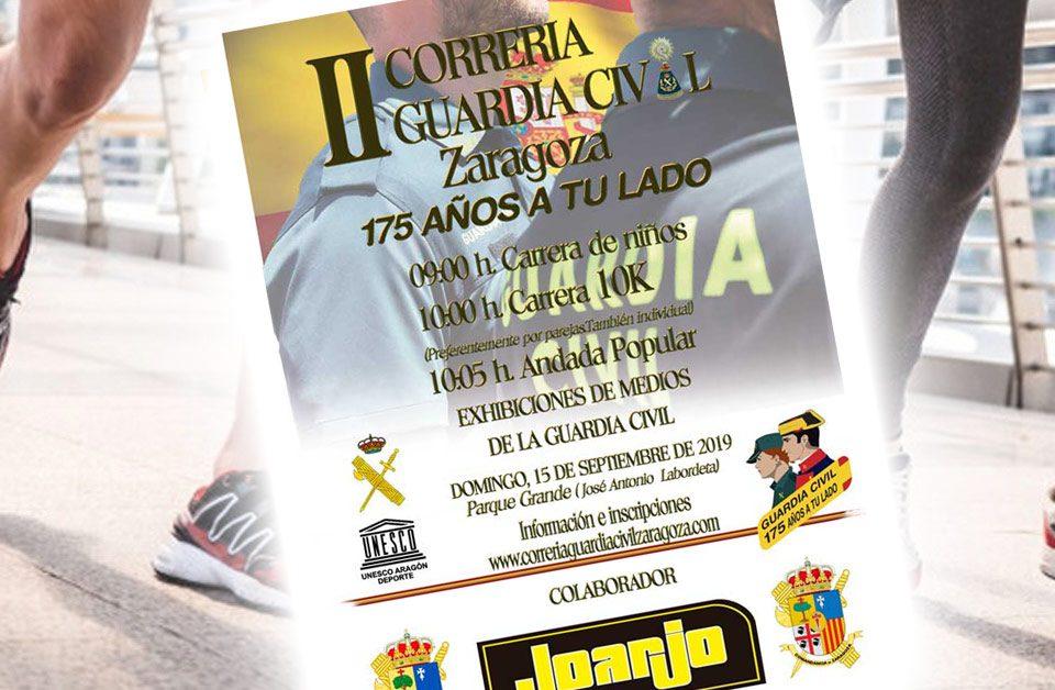 II Correría Popular Guardia Civil Zaragoza 10K