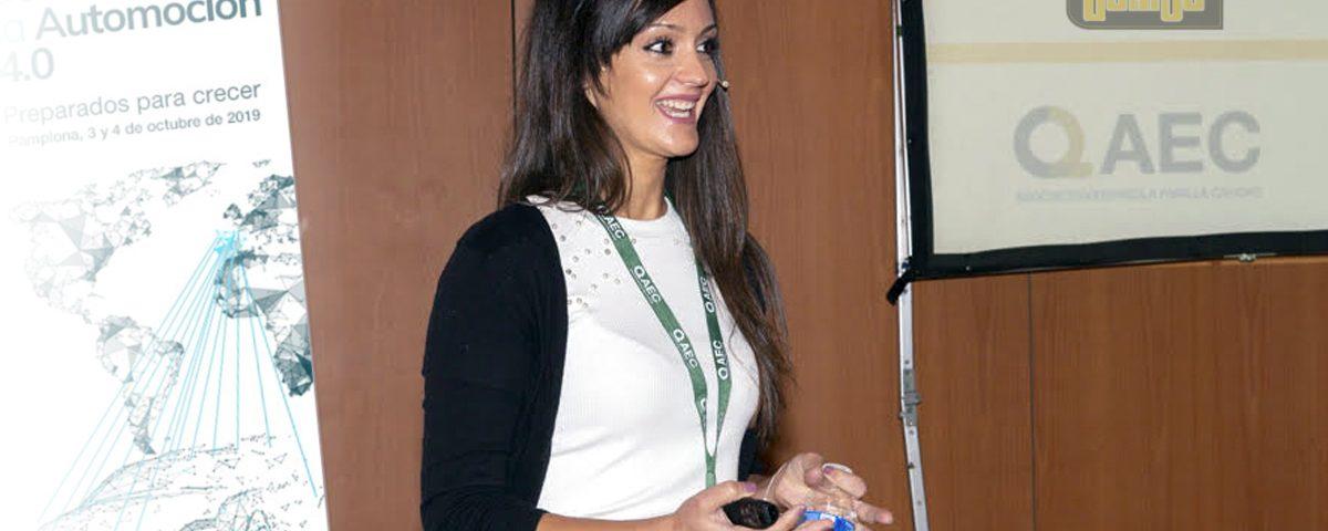 Laura Arnal (Joarjo) expone en AEC Congreso de Calidad