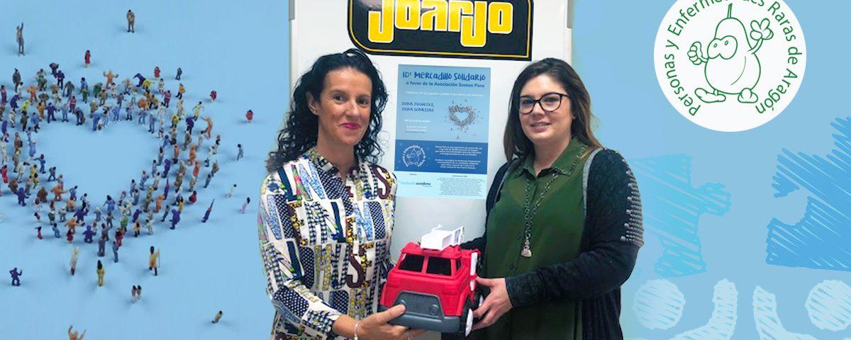 Mercadillo Solidario en beneficio de Personas y Enfermedades Raras de Aragón (PERA)