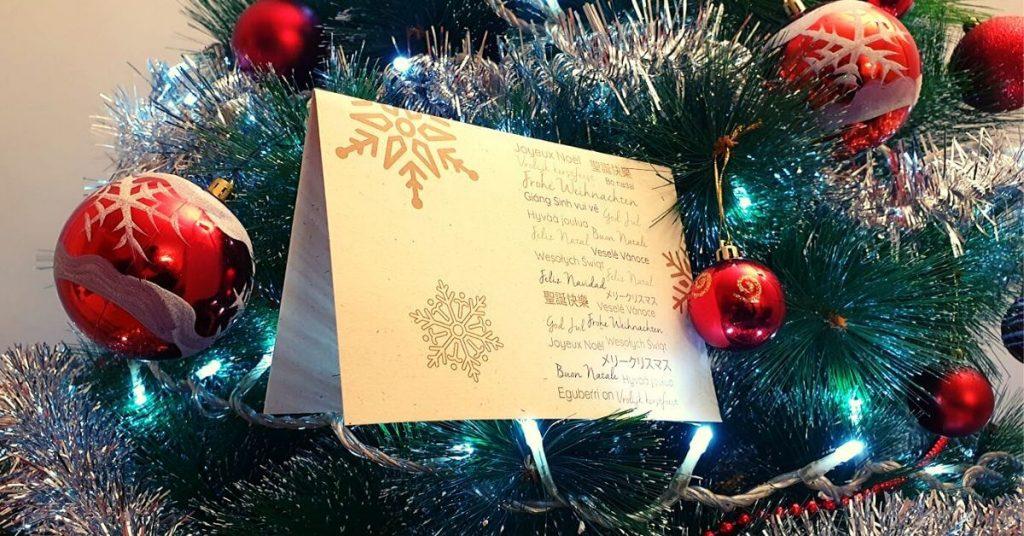 Joarjo te desea una Feliz Navidad y Próspero 2020