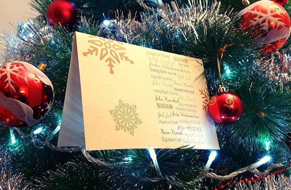 Postal de Navidad de Joarjo