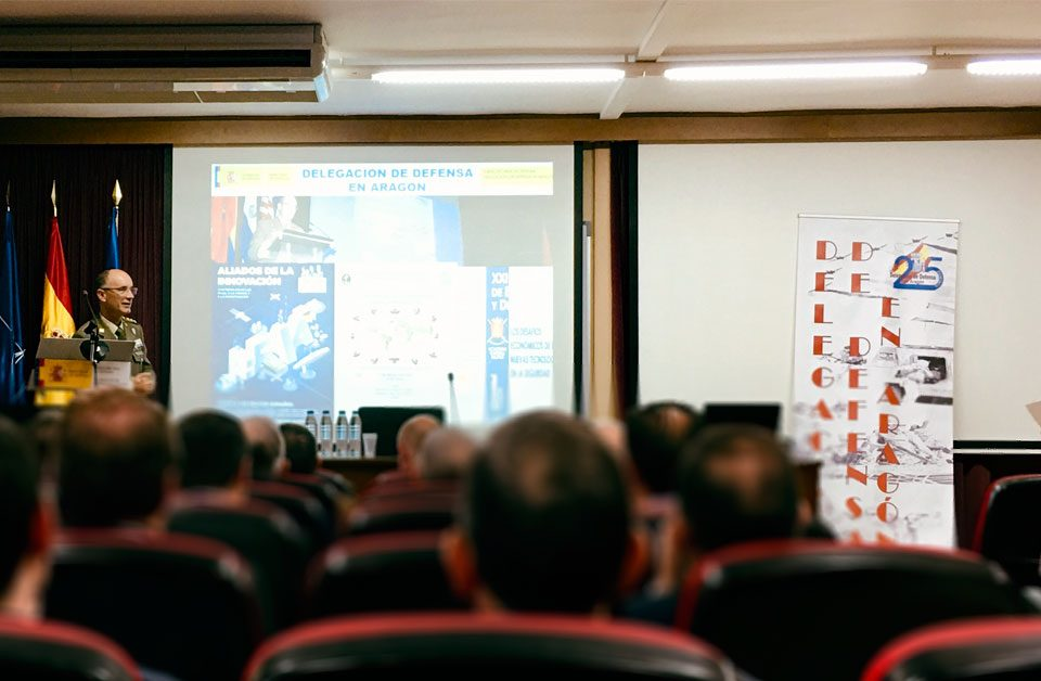 Jornada de Cultura de Defensa para la Empresa en Aragón