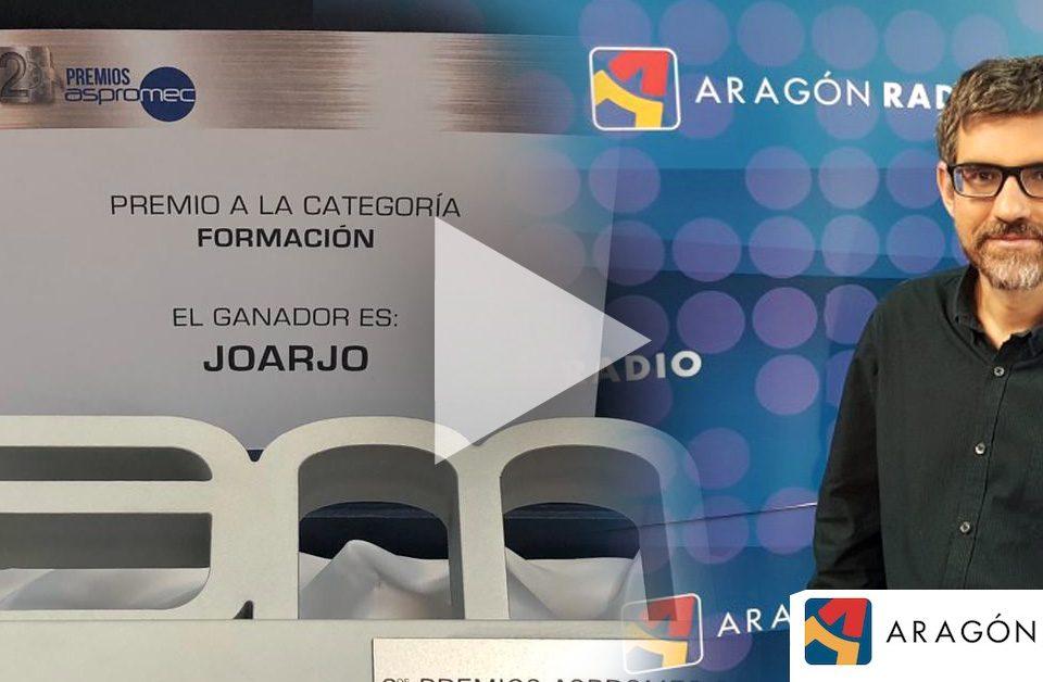 Entrevista a Isabel Mozota (Joarjo) en Aragon Radio