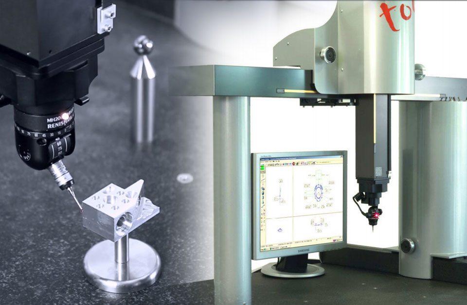 Máquina de medición por coordenadas Axiom Too CNC de Aberlink (Tecnimetal)