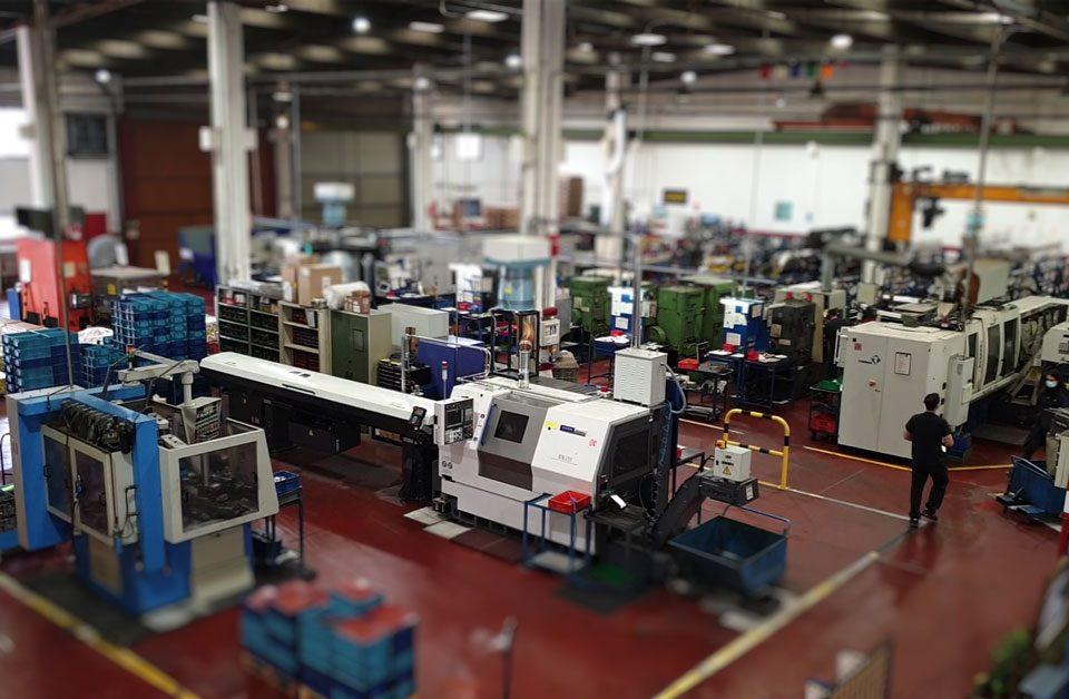 Parque de Maquinaria de Mecanizados Joarjo