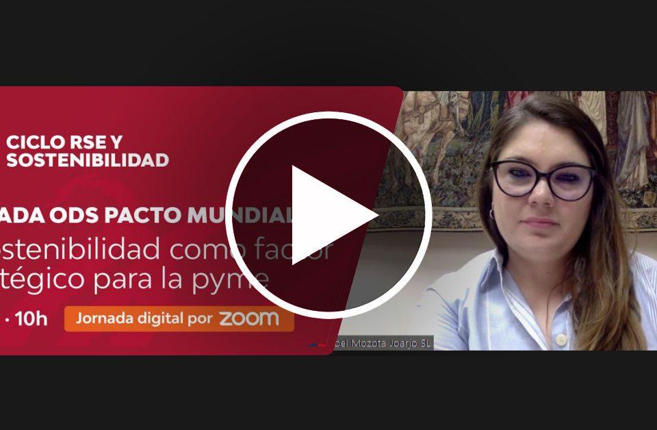 Isabel Mozota (Jornada ODS Pacto Mundial)