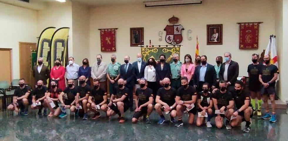 Correría Guardia Civil Zaragoza 2021